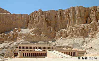 Queen Hatshepsut's temple at Deir el Bahri